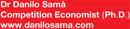 Dr. Danilo Samà – Competition Economist (Ph.D.) – www.danilosama.com